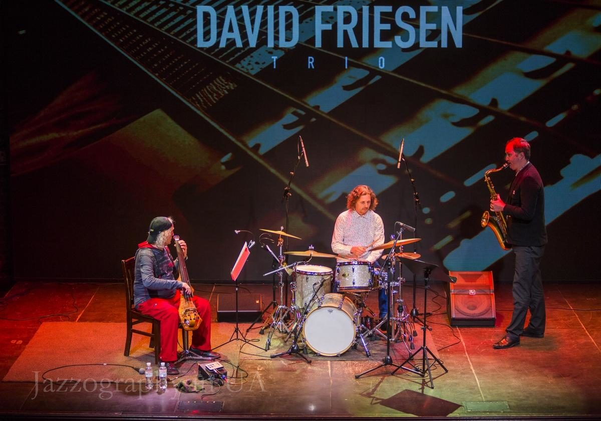 David Friesen New Zealand Trio в Киеве